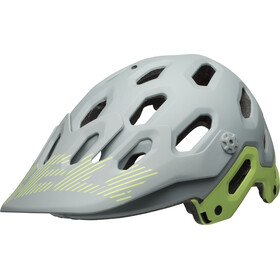 Bell Super 3 MTB Helmet matte smoke/pear